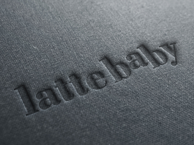 Latte Baby - Logo Design