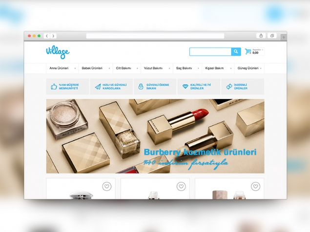 Village - Web Design
