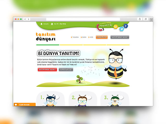 Tanitim Dünyası Web Site Design and Programming